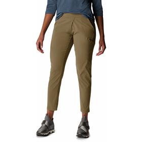 Mountain Hardwear Dynama Pantalones hasta el tobillo Mujer, beige